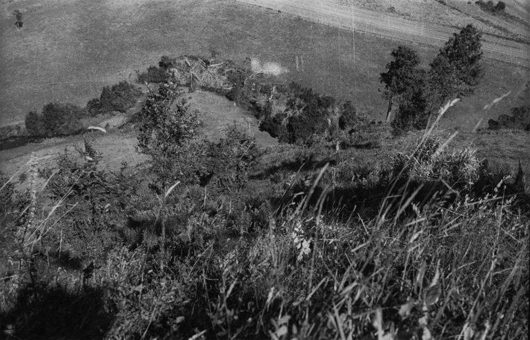 Fotografía de una pampa vista desde el cerro