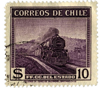Estampa de correos de chile