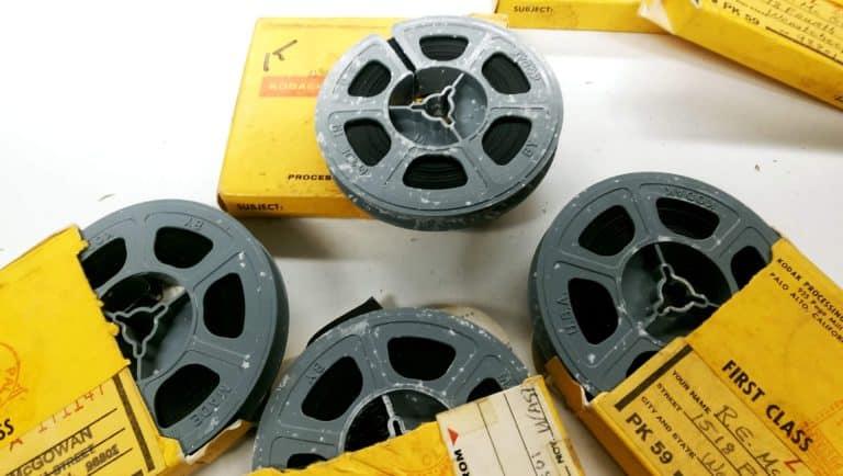 varios films de 8mm