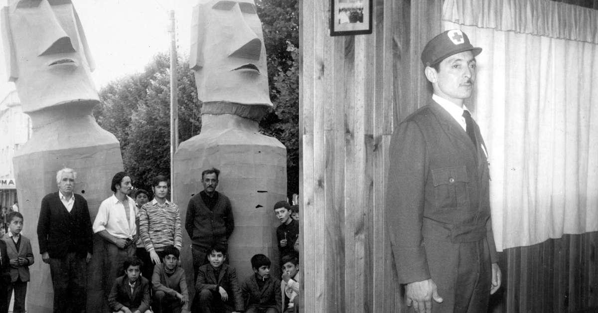 Chiflido y su moai